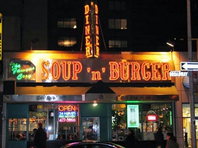 Lanchonete Cozy Soup'n Burger em Nova York
