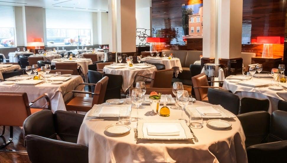 Restaurante italiano Marea em Nova York