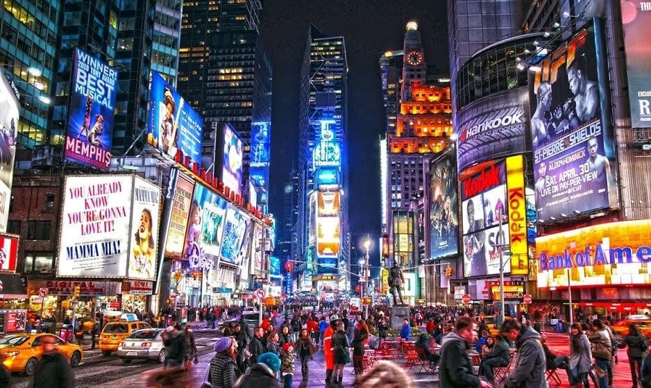 Times Square em Nova York