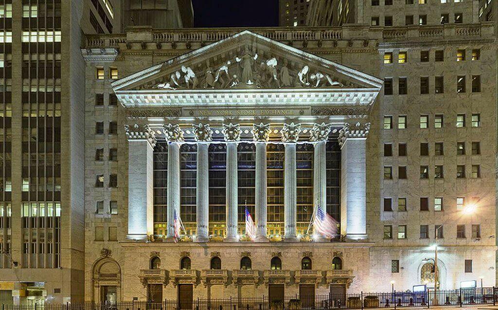 Wall Street Bolsa de Valores New York