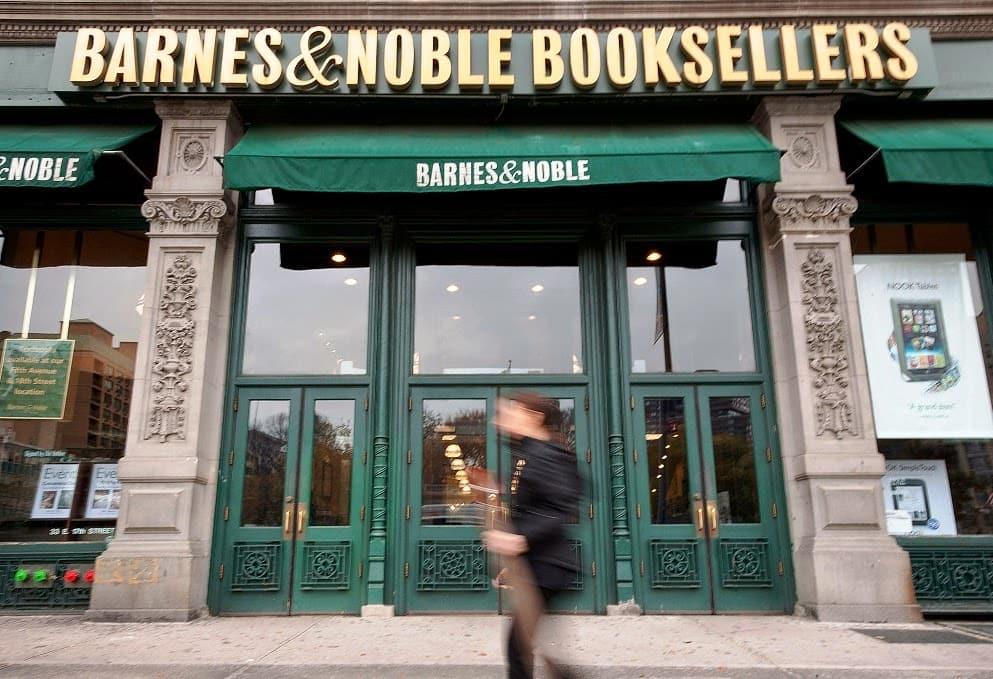 Livraria Barnes and Noble em Nova York