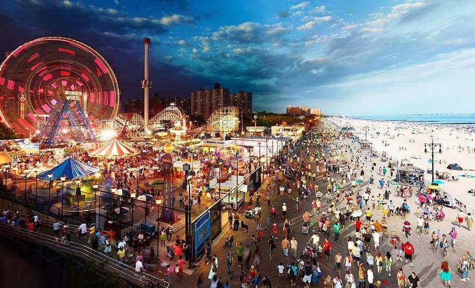 Parque Coney Island em Nova York