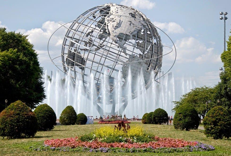 Flushing Meadows Corona Park em Nova York
