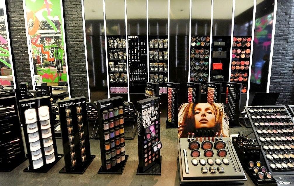maquiagens e cosméticos em Nova York