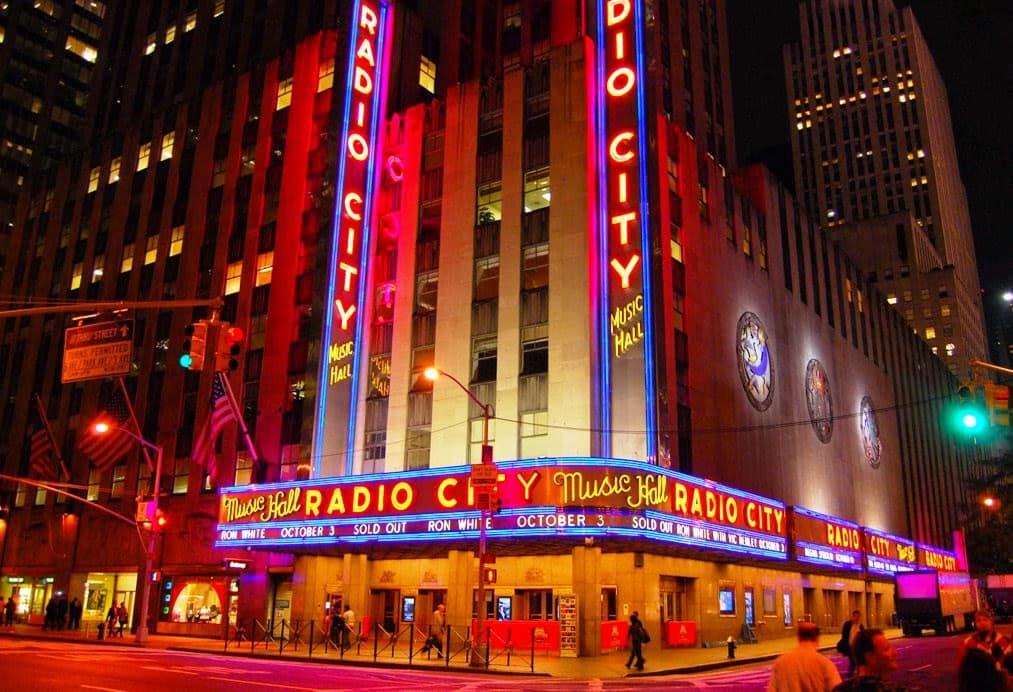Radio City Music Hall em Nova York