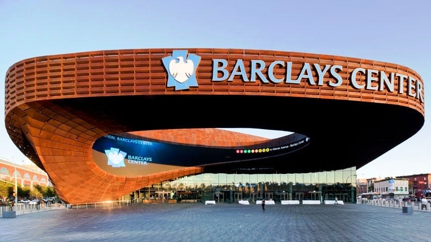 Arena Barclay's Center no Brooklyn