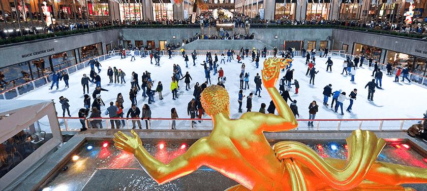 Endereço do Rockefeller Center em Nova York