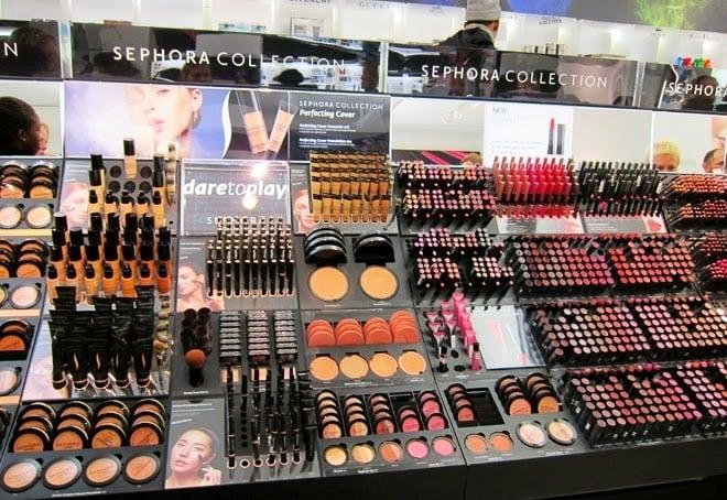 Sephora em Nova York Maquiagem