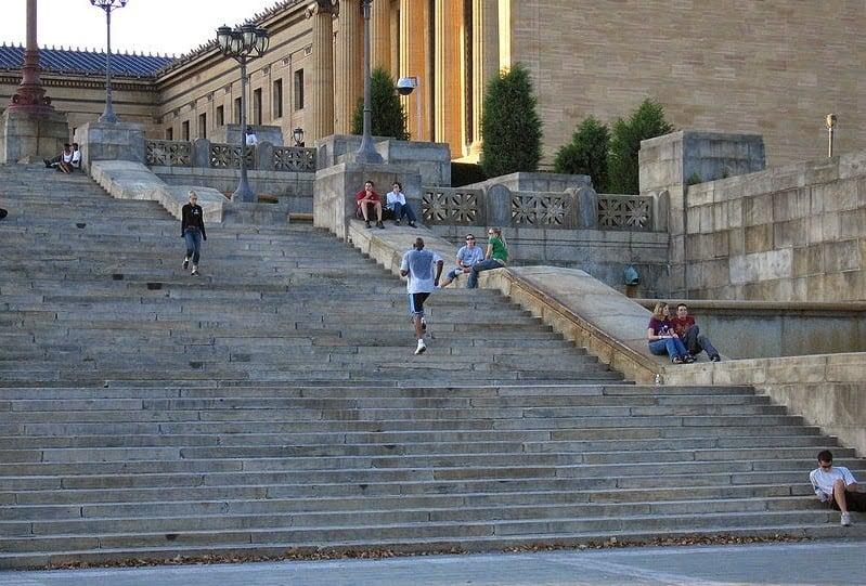 Escada de Rocky Balboa Philadelphia New York