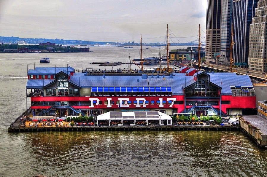 Pier 17 em New York