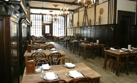 Restaurante Peter Luger no Brooklyn em Nova York