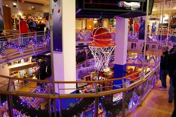 Loja NBA Store em Nova York