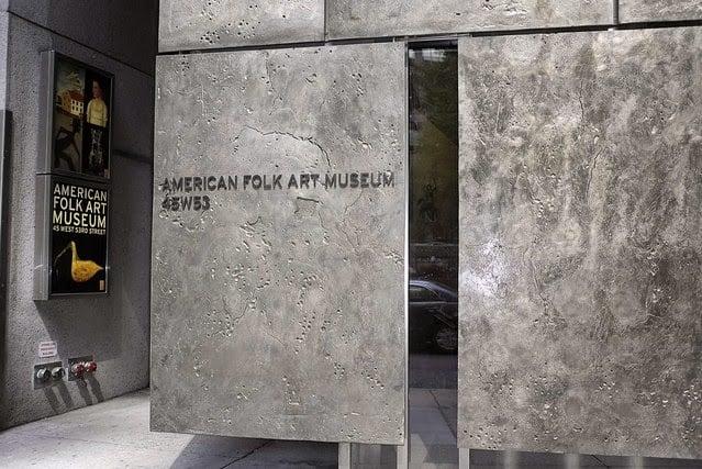 O American Folk Art Museum em Nova York