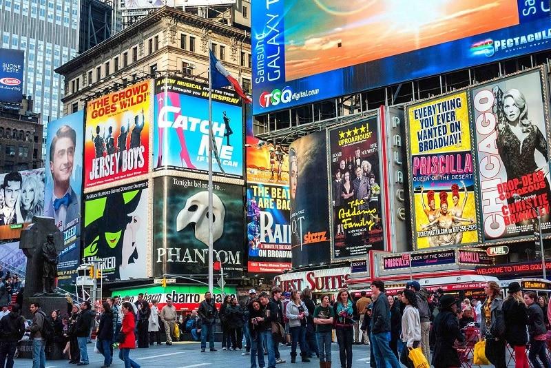Ingressos na Times Square