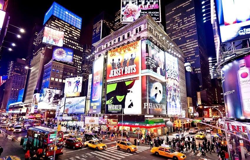 Ingressos da Broadway em Nova York