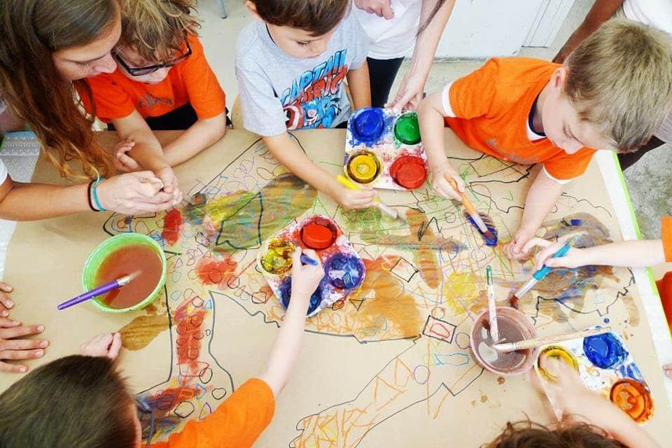 Visita ao Museu de Arte das Crianças