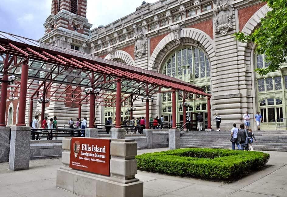 Museu da Imigração na Ellis Island em Nova York