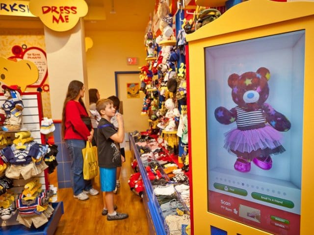 Loja Build a Bear Workshop em Nova York