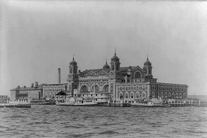 História da Ellis Island em Nova York