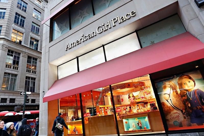 Loja American Girl Place em Nova York