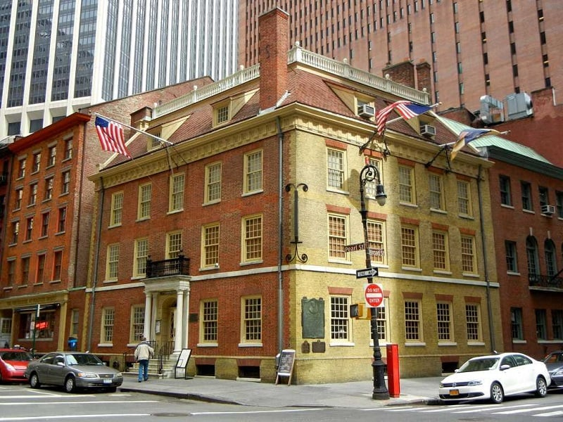 Museu e Restaurante Fraunces Tavern em Nova York