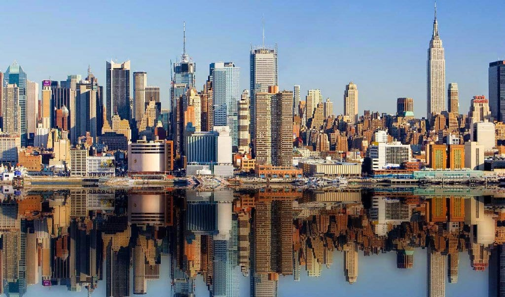 Como Nova York é dividida