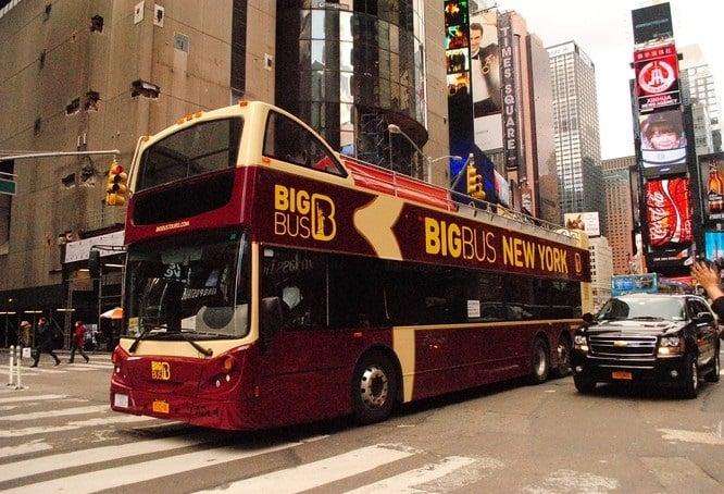 Big Bus Tours em Nova York