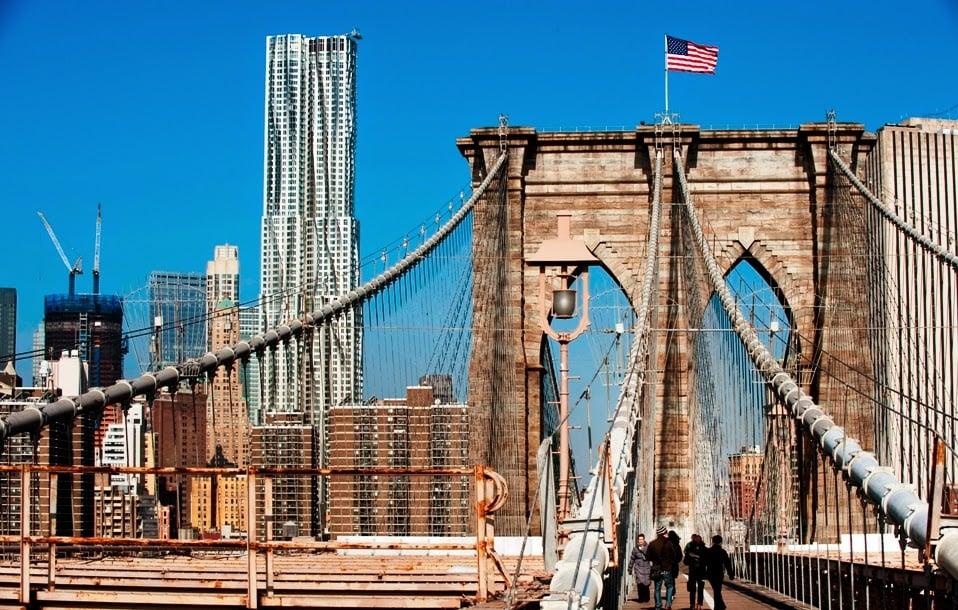 Promoção de passagem aérea para Nova York