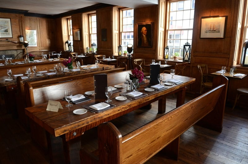 Restaurante da Fraunces Tavern