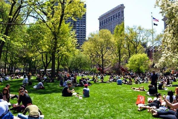 Madison Square Park em Nova York