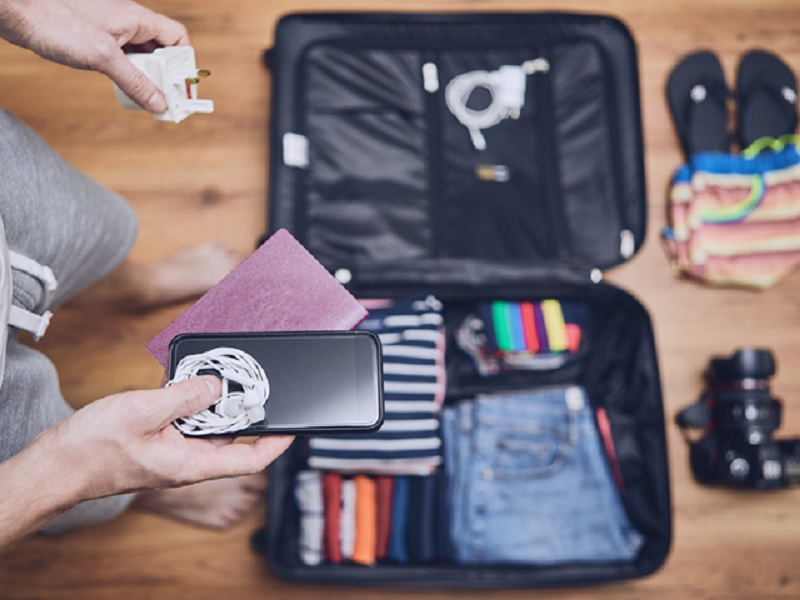 Fazendo as malas para viajar