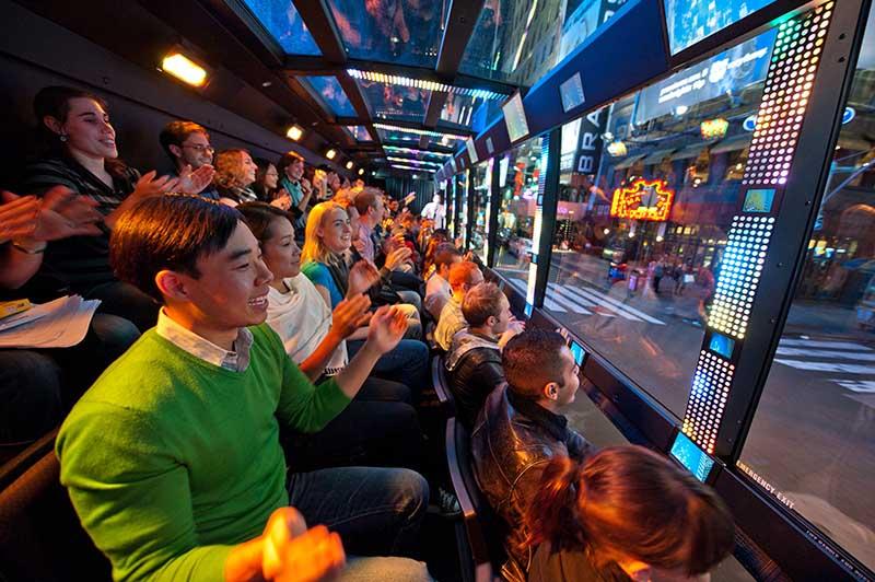 Espectadores do The Ride em Nova York