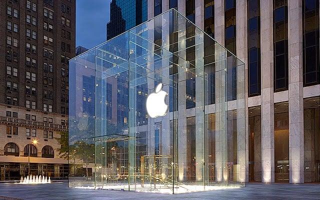 Loja Apple Store na Quinta Avenida em Nova York