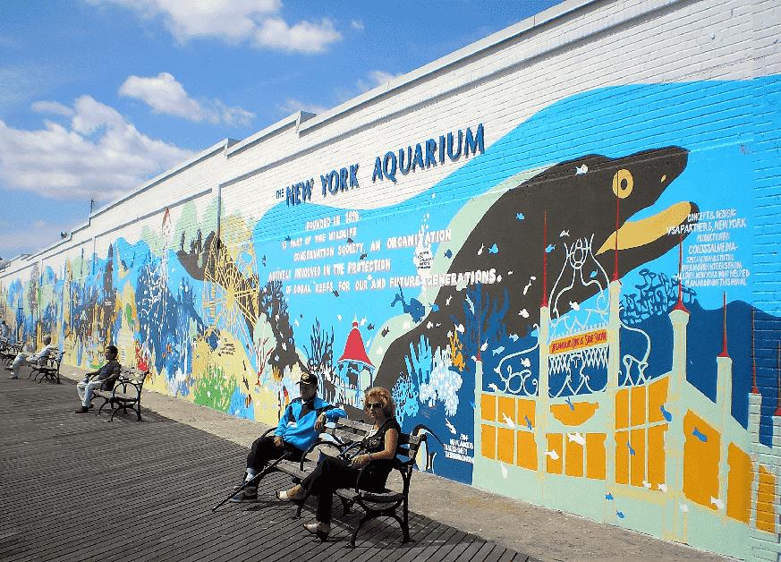 Visita ao Aquário de Nova York