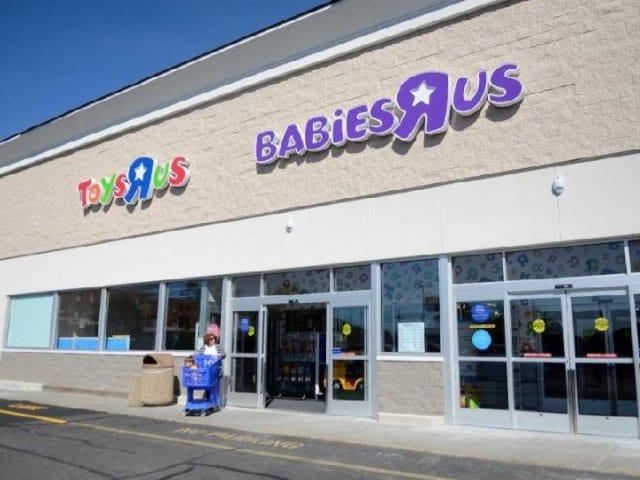 Loja infantil Babies 'R' Us em Nova York