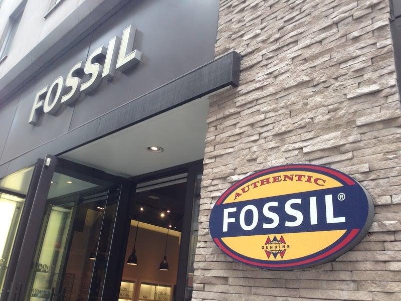 Fossil em Nova York
