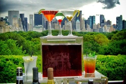 Roof Garden Café and Martini em Nova York