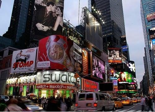 Swatch em Nova York