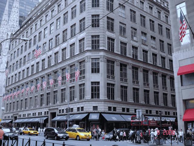 Loja Saks Fifth Avenue em Nova York