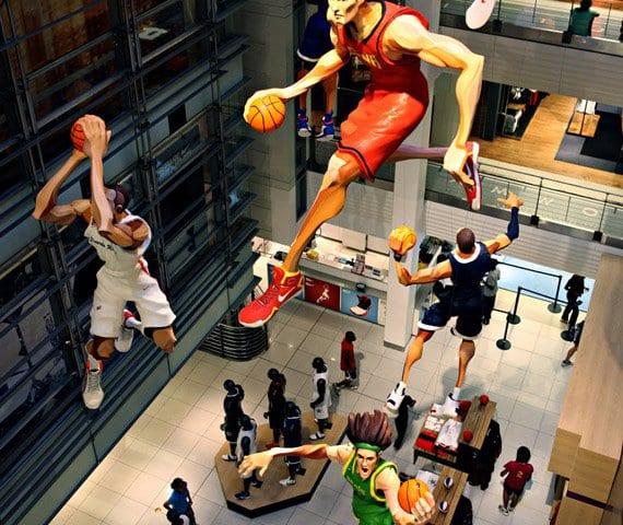 Niketown – Megaloja da Nike em Nova York