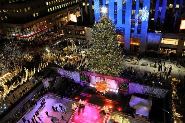 Rockefeller Center Nova York no Natal