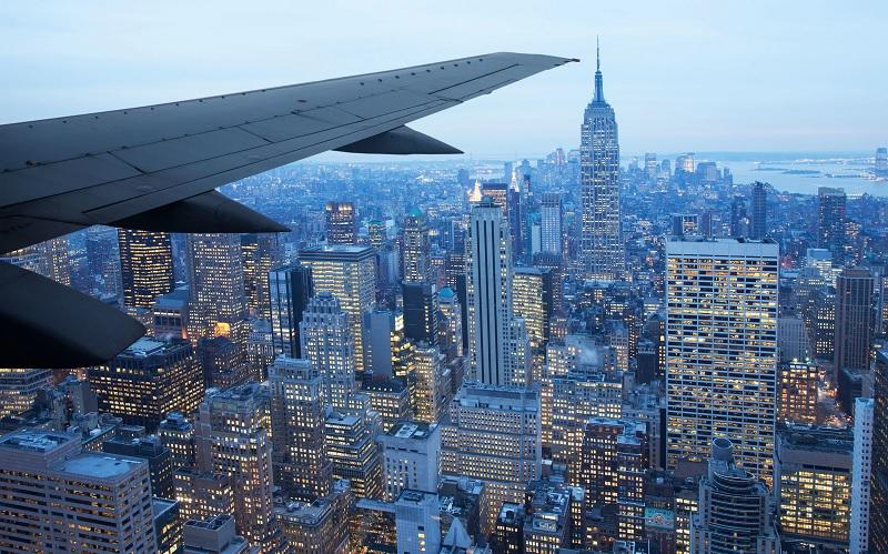 Voo para Nova York