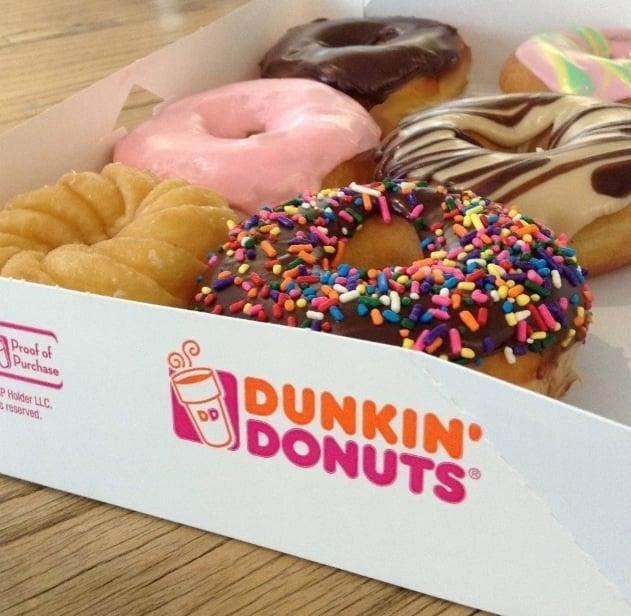 Como é a Dunkin Donuts em Nova York