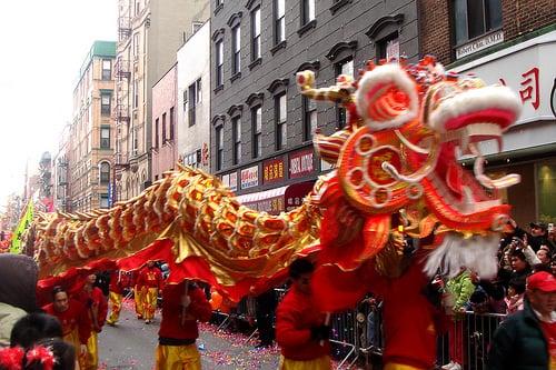 Ano novo chinês em Nova York