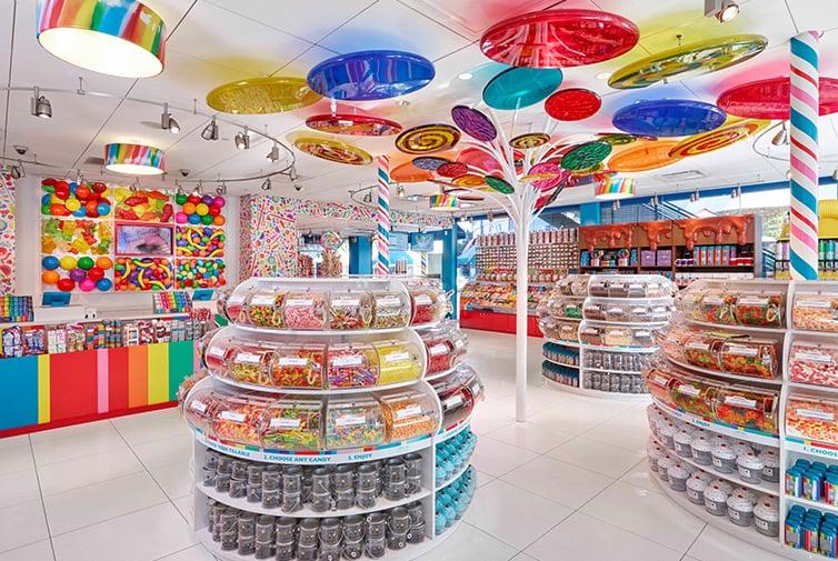 Informações da loja Dylan's Candy Bar em Nova York: