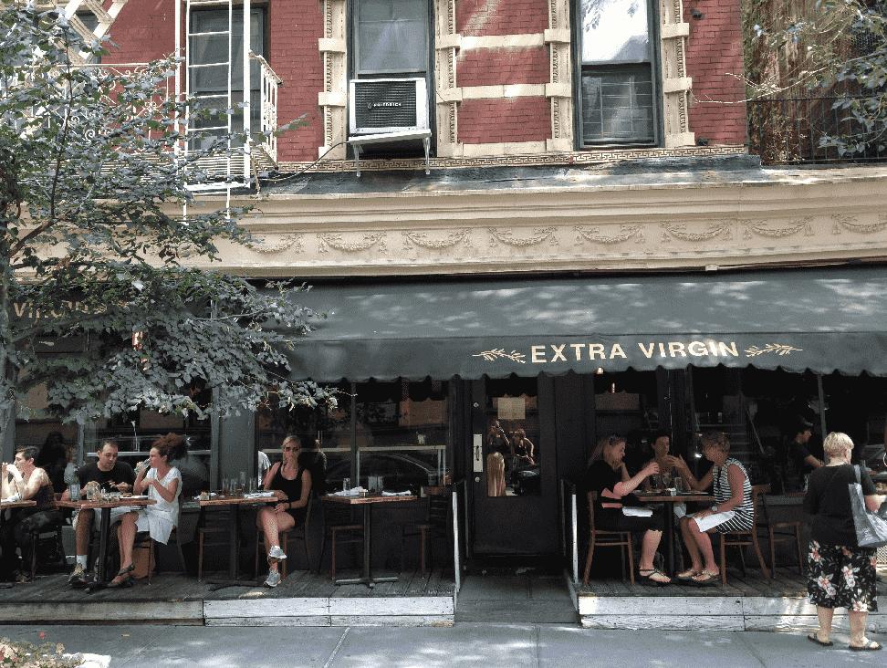 Restaurante Extra Virgin em Nova York