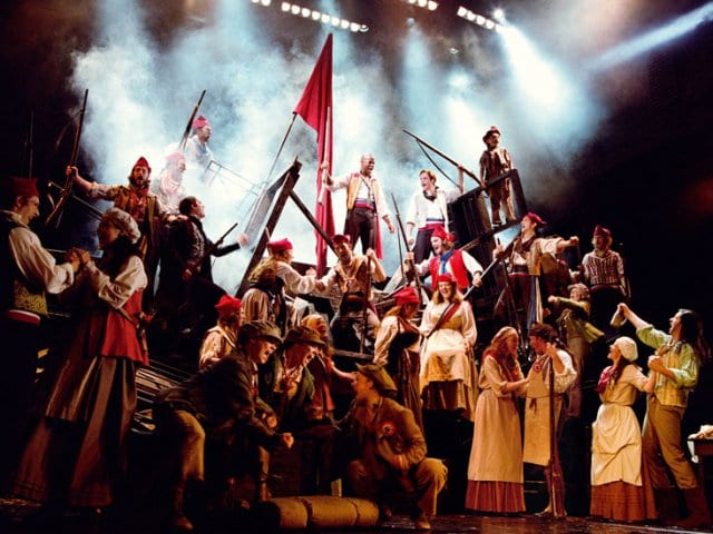 Musical Les Miserables na Broadway em Nova York