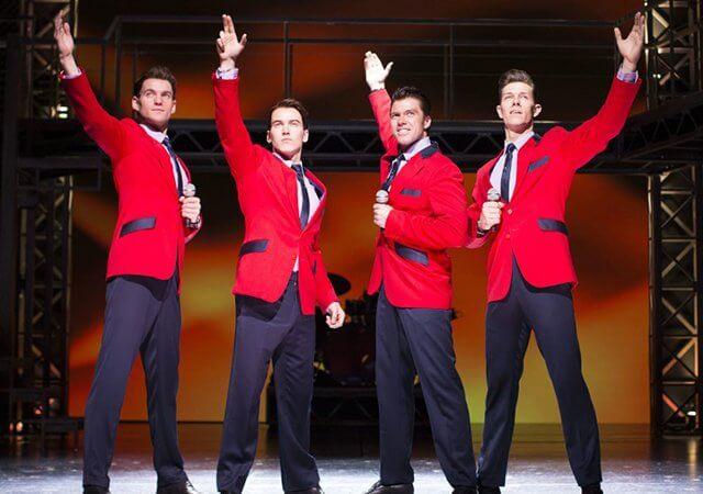 Musical Jersey Boys na Broadway em Nova York