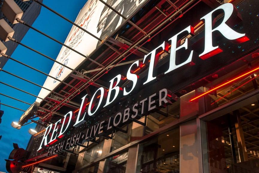 Como é o restaurante Red Lobster em Nova York