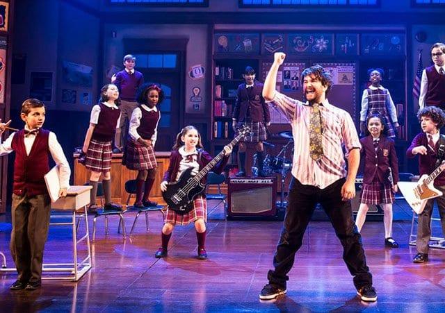 Musical Escola de Rock em Nova York